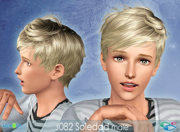JO 82 Soledad   Tomboy haircut by NewSea for Sims 3