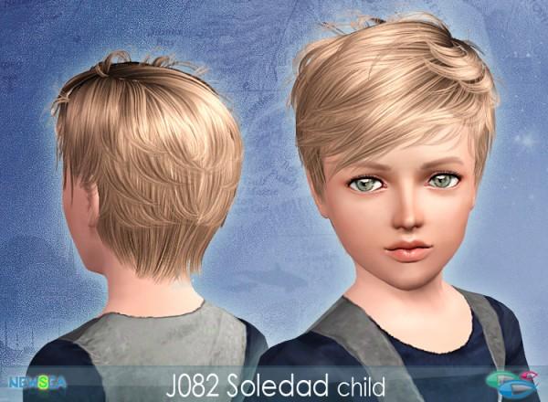 Pleasant Jo 82 Soledad Tomboy Haircut By Newsea Sims 3 Hairs Short Hairstyles Gunalazisus
