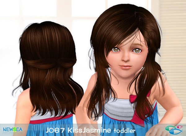 JO 67 Kiss Jasmine   modern  haircut by NewSea for Sims 3