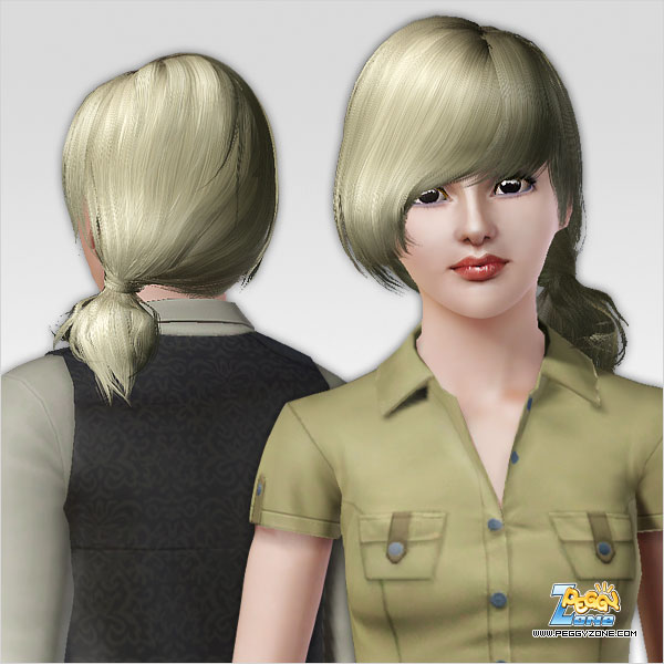 Back to school hairstyle ID 479 by Peggy Zone for Sims 3