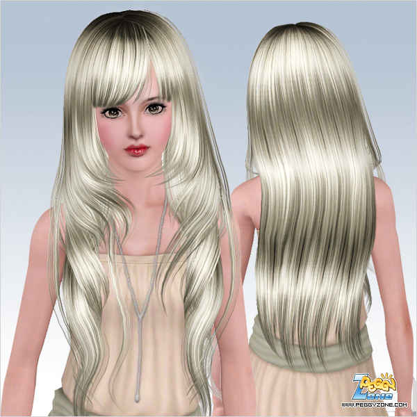 ... hair framing the face hairstyle ID 528 by Peggy Zone - Sims 3 Hairs