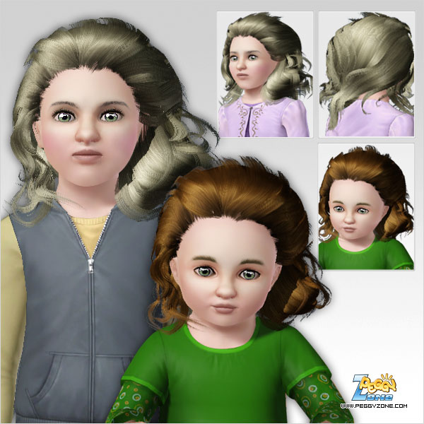 Lion haircute ID 368 by Peggy Zone  for Sims 3
