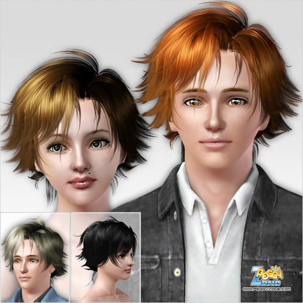 toddler haircuts j189 crescent high bun with bangs hairstyle by newsea 2112