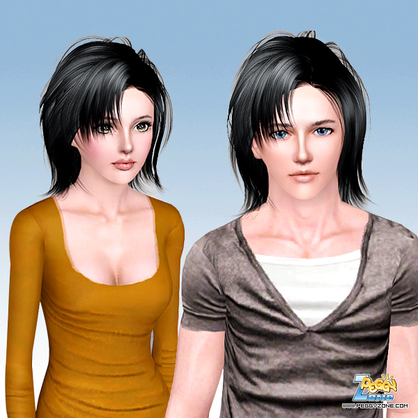 Fresh haircut ID 619 by Peggy Zone for Sims 3