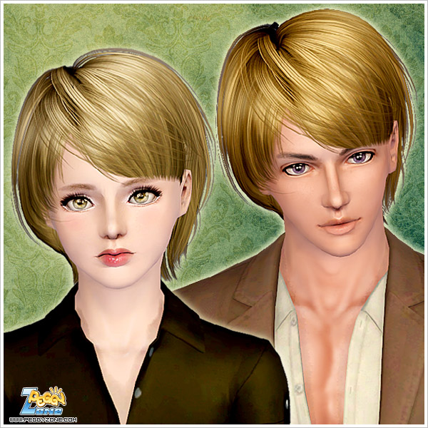Short Hairstyle With Bangs Id 000057 By Peggy Zone Sims 3 Hairs