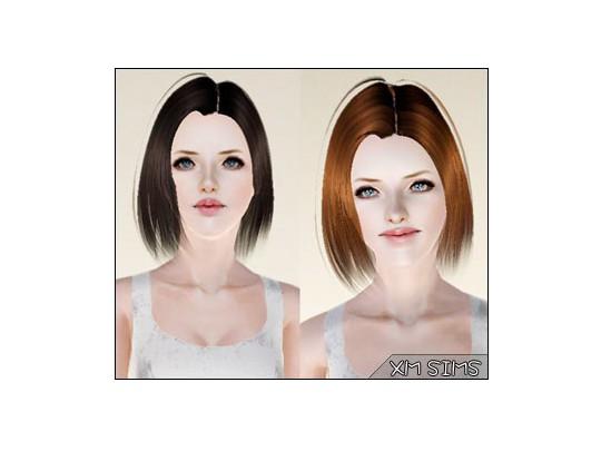 Jagged edges bob hairstyle - alex-m311 hair by XM Sims - Sims 3 Hairs