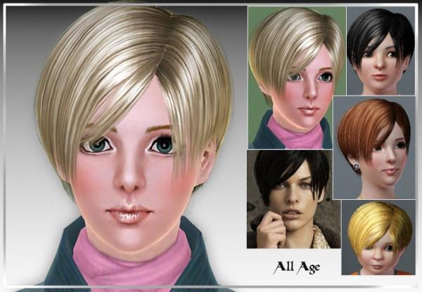 Short Boy Crop Hair D 13 By Rose Sims 3 Hairs