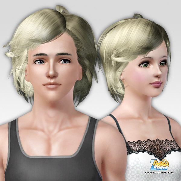 Strand bob hairstyle ID 105 by peggy Zone for Sims 3
