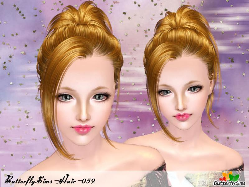 silky hair styles for newsea hair dump part 2 by magically delicious sims 3 hairs 6120