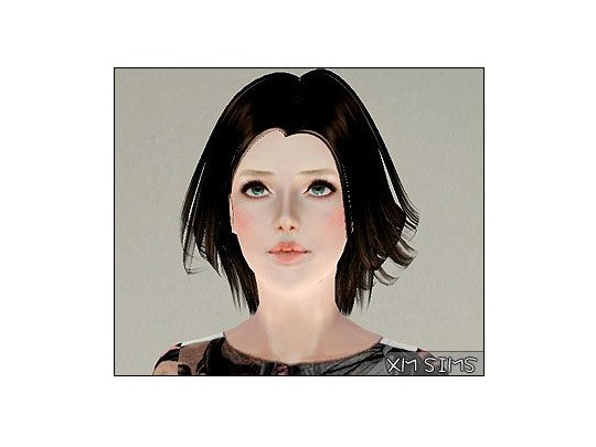 Casual look hairstyle   alex m3 08192013 by XM Sims for Sims 3