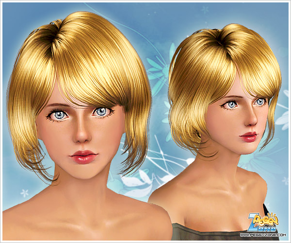 Soft and shiny haircut ID  for Sims 3