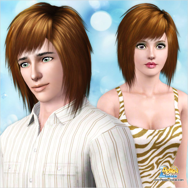Jagge edges hairstyle ID 608 by Peggy Zone for Sims 3