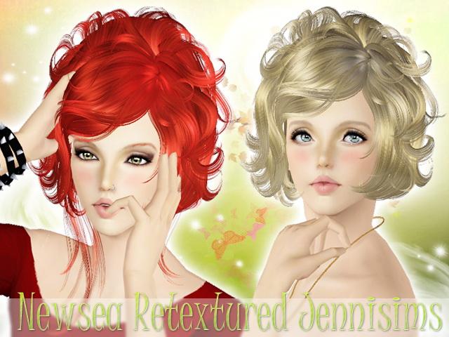 Curly Bob Hairstyle Newsea Hair Masquerade Sims 3 Hairs
