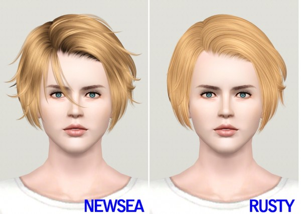 Spiny bob   J113 by Newsea retextured by Rusty Nail for Sims 3