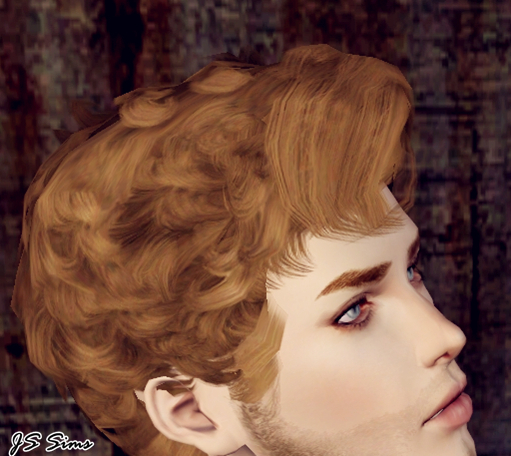 Curly Hairstyle The Lindy Hop Edited By Js Sims 3 Sims
