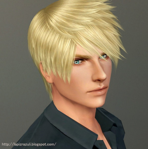 Stephen hairstyle 5 Djin by Lapiz`s Scrapyard for Sims 3
