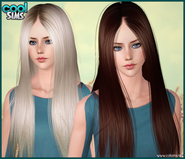 Smoothie hairstyle 94 by Anto for Sims 3