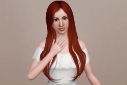 The Adorable Hairstyle   Newsea's Capriccio retextured by Beaverhausen for Sims 3