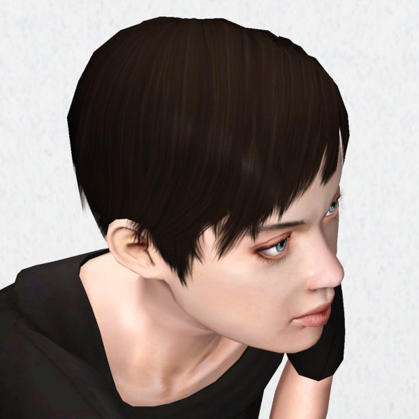 Super Short Hairstyle Pixie By Hystericalparoxysm At Mod The Sims