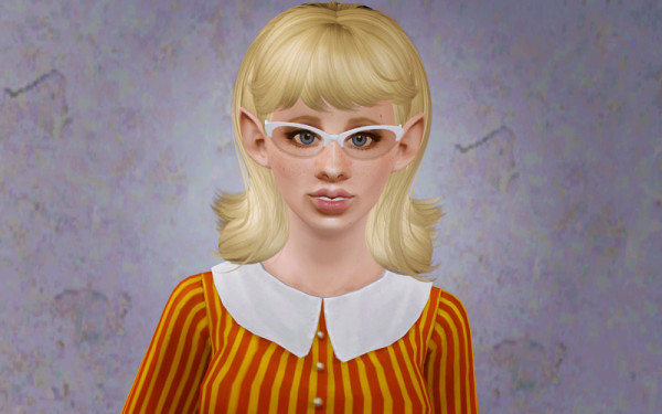 Scarlette hairstyle  Butterfly Sims 64 retextured by Beaverhausen for Sims 3