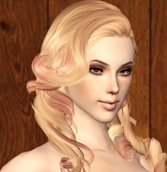 Medieval curls NewSea`s SkyScraper retextured by Bring Me Victory for Sims 3