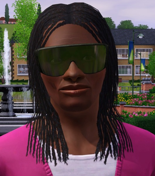 Afro hairstyle by Cheryl Mason at Mod the Sims for Sims 3