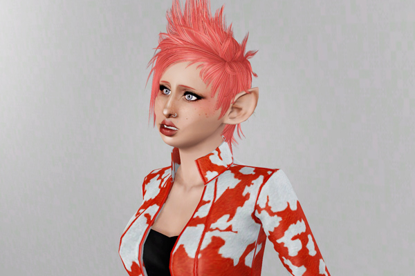 Spiky hairstyle   Newsea's Bad Kid Toddler retextured by Beaverhausen for Sims 3