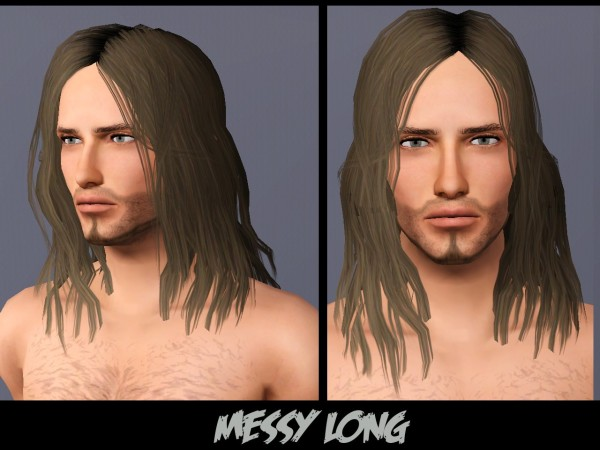 3 hairstyle retextured for males by Arisuka at Mod the Sims for Sims 3