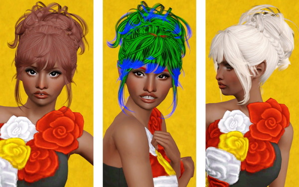 Up We Go! hairstyle   Newsea Hush Baby retextured by Beaverhausen for Sims 3