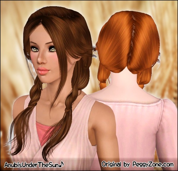 Amazing Double Light Braids Peggy S Hairstyle Retextured By Anubis Sims Short Hairstyles For Black Women Fulllsitofus