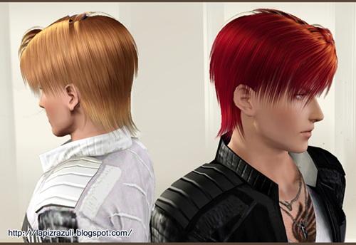 Chad hairstyle 8 Sahara by Lapiz`s Scrapyard for Sims 3