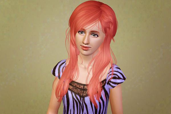 Modern haircut   Newsea's Kiss Jasmine retextured by Beaverhausen for Sims 3