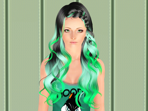 NewSea`s Lullaby hairstyle retextured by Brad for Sims 3