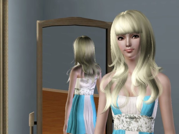 Anto`s 54 The bold in front hairstyle retextured by Savio for Sims 3