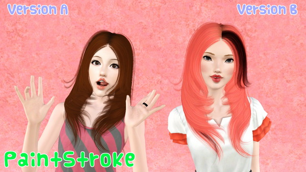 Cazy`s Amanda hairstyle retextured by Katty for Sims 3