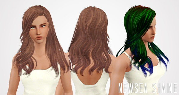 Cazy, Candice, Newsea, Nightcrawler hairstyles retextured by Janita for Sims 3
