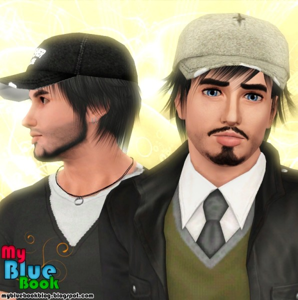 Baseball cap hairstyle Raon 24 retextured by TumTum - Hairstyles 2014 Fall