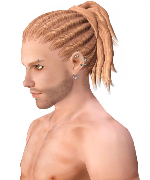 Dreadlocks hairstyle 004 by Kijiko for Sims 3