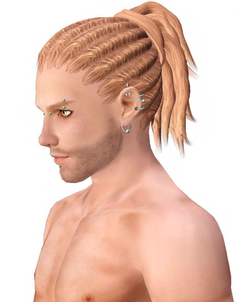 Dreadlocks Hairstyle 004 By Kijiko Sims 3 Hairs