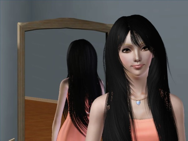 Rose 94 The ultimate hairstyle retextured by Savio for Sims 3