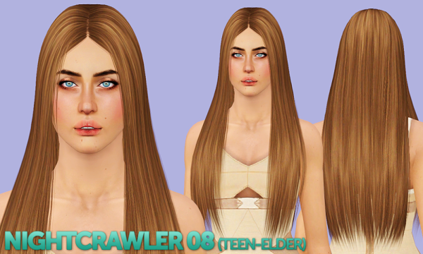 Newsea, Nightcrawler and EA hairstyles retextured by Shack and Shame for Sims 3