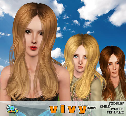 thinning hair haircuts vivy sleek and thin hairstyle by newsea sims 3 hairs 3504