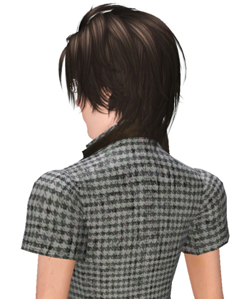 Crazy hairstyle 002 by Kijiko for Sims 3