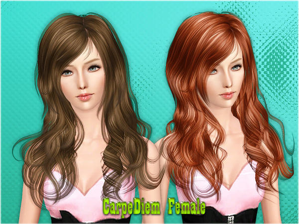 Carpe Diem Hairstyle by Cazy for Sims 3