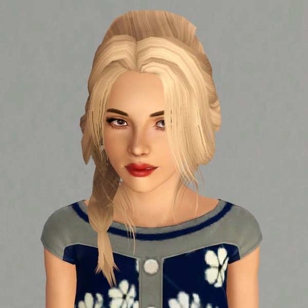True Romance Store hairstyle retextured by Traelia - Sims 3 Hairs