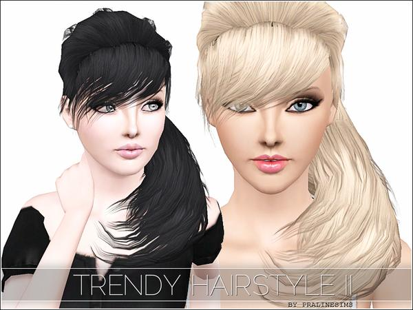 Trendy Hairstyle by TSR Archive for Sims 3