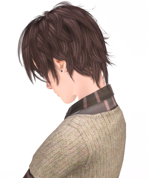 Still Sleepy hairstyle 003 by Kijiko for Sims 3
