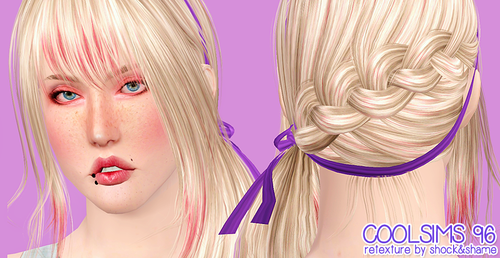 Coolsims, Alesso, Skysims hairstyles retextured by Shock and Shame for Sims 3