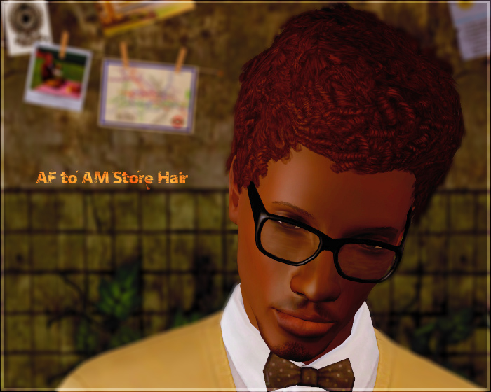 Short Afro Hairstyle By Aikea Guinea Sims 3 Hairs