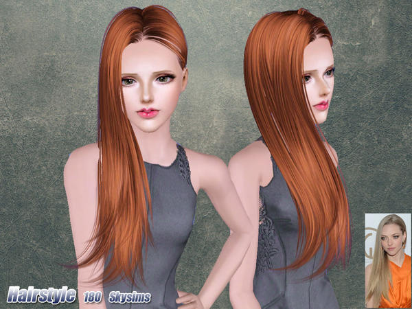 Simple and Sassy hairstyle 180 by Skysims for Sims 3